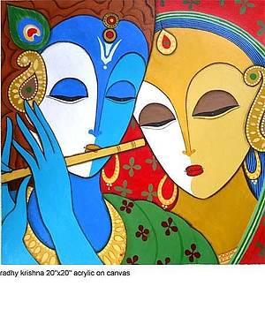 Krishna by Keshaw Kumar