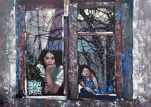 lady Winter by Anastasija Kraineva
