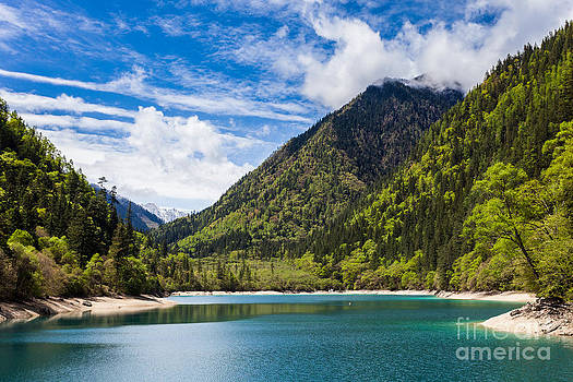 Fototrav Print - Lake and mountain landscape