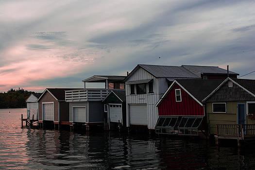 Lake Houses by John Baumgartner