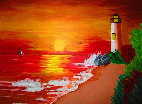 Lighthouse by Haleema Nuredeen