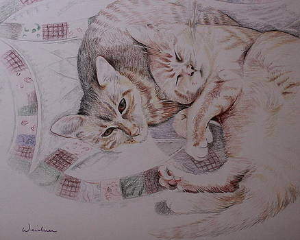 Lilly and Maddie by Kathy Weidner