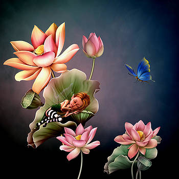 Lotus Flower by John Junek