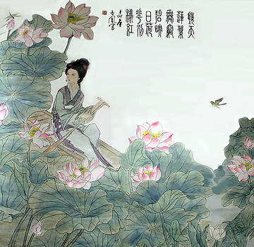Lotus Pond by Yufeng Wang