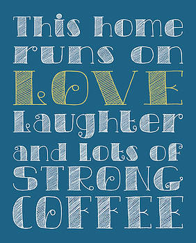 Jaime Friedman - Love and Strong Coffee Poster