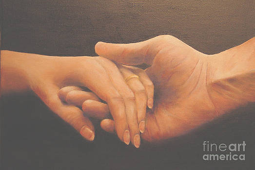 Loving hands by Leonard Franckowiak