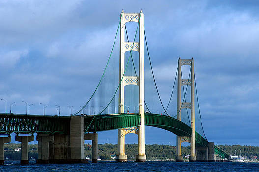 Mackinac Bridge - Mighty Mac by Glenn McGloughlin