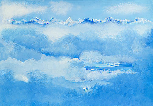 Over the clouds by Barbara Klimova