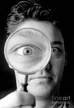 Victor de Schwanberg - Magnified Eye