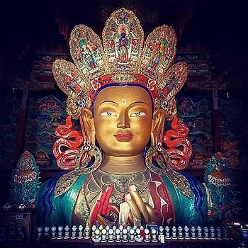 Maitreya Buddha by Hitendra SINKAR