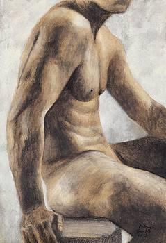 Male Nude 51 by Milena Gawlik