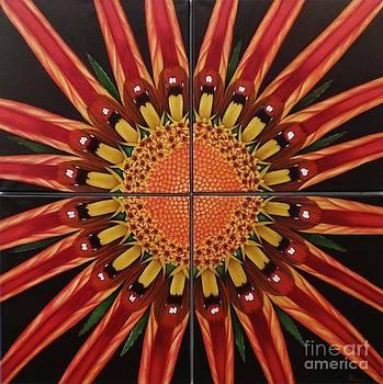 Mandala by Paula L