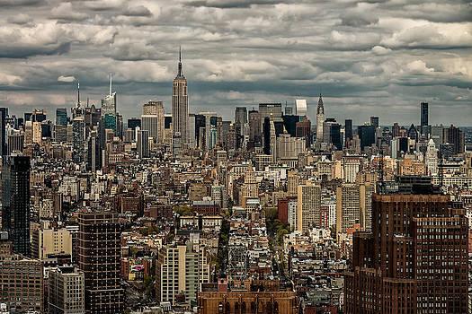 Manhattan Skyline by James Howe