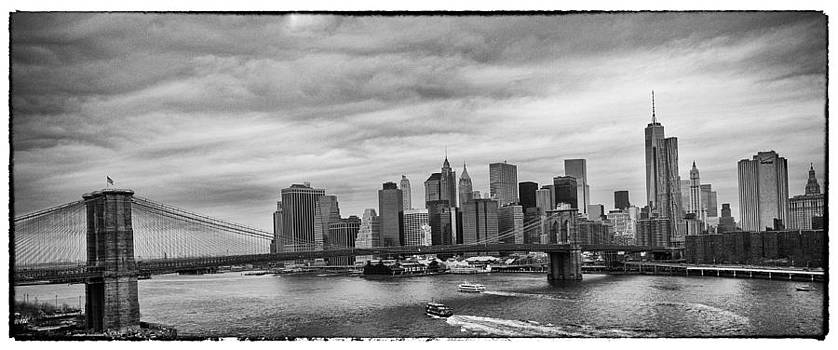 Manhattan Skyline by Peter Aitchison