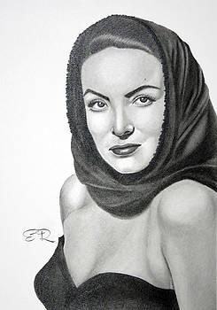 Maria Felix by Enrique Garcia