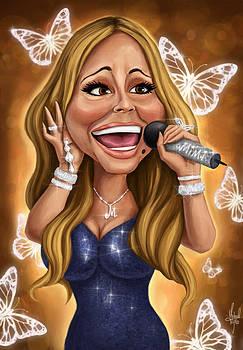 Mariah Carey by Michael Trujillo