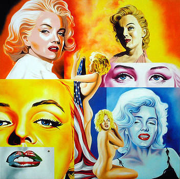 Marilyn Monroe ''The Goddess'' by Hector Monroy