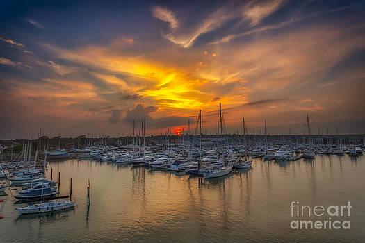 English Landscapes - Marina Sunset