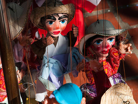 Marionettes at Olvera Street by Lee Roth
