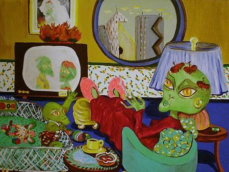 Martian Mama by Ann Teicher