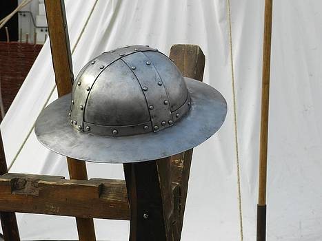 Ion vincent DAnu - Medieval Riveted Iron Helmet