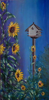 Mi Birdhouse by Shirley Watts