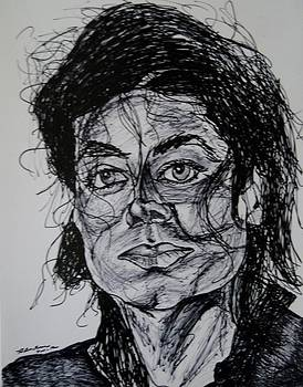 Michael Jackson by Ron Anthony