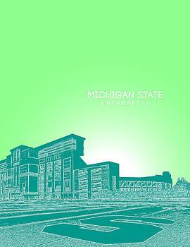 Michigan State University by Myke Huynh
