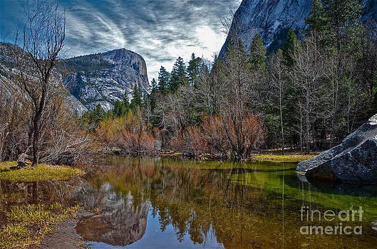 Mirror Lake Yosemite by Amy Fearn