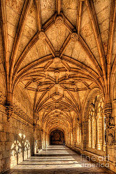 English Landscapes - Monastery dos Jeronimos Cloisters