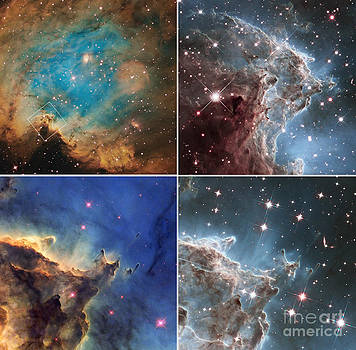 Science Source - Monkey Head Nebula