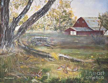 Morning on the Back Forty by Terry Anderson
