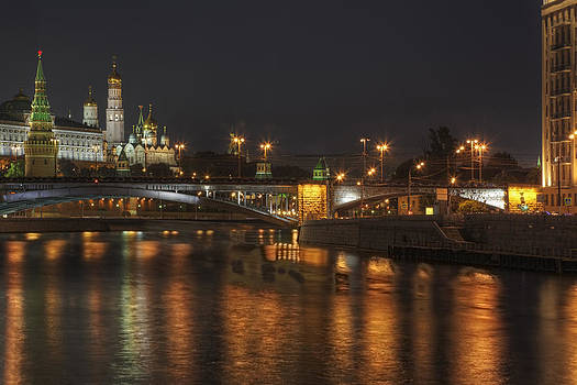 Moscow Night by Magomed Magomedagaev