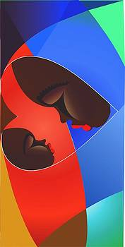 Mother And Child by Isaac Bineyson