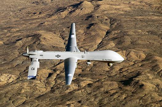 Mq-1 Predator Drone by Us Air Force/effrain Lopez