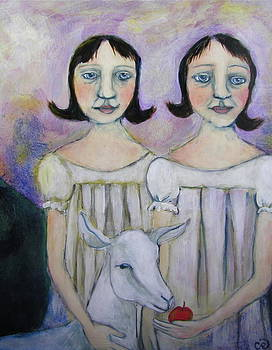 Murphy Sisters and the Goat by Cindy Riccardelli