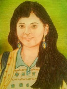 My best friend-yashika by Aparna Suriaraj