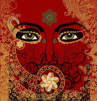 Mystery Eyes by Andrea Ribeiro