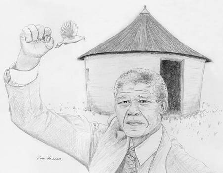 Nelson Mandela by Jose Valeriano