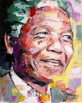 Nelson Mandela by Richard Day