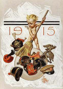 New Year's Baby by Joseph Christian Leyendecker