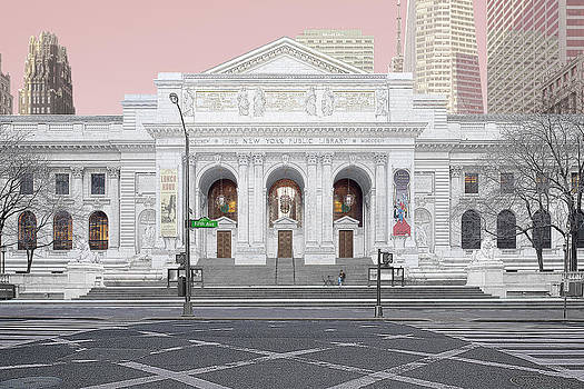New York Public Library by Michael Davis
