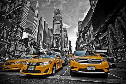 New York Yellow Cab by Amador Esquiu Marques