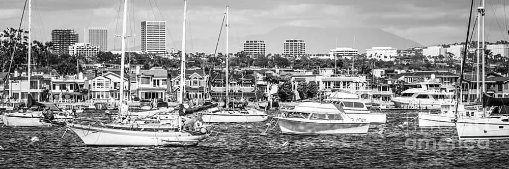 Paul Velgos - Newport Beach Skyline Panorama Photo