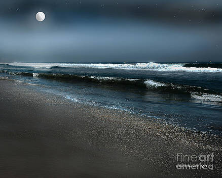 Artist and Photographer Laura Wrede - Night Beach