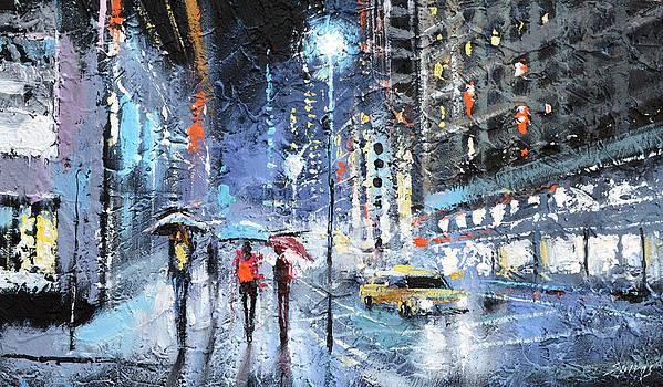 Night city by Dmitry Spiros