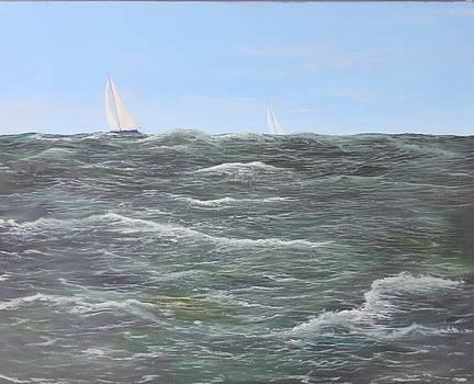 Ocean Sail by Ken Ahlering