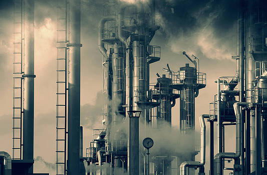 Oil And Gas Power Industry by Christian Lagereek