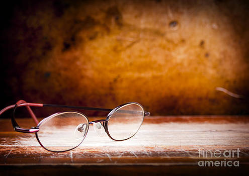Tim Hester - Old Glasses on Desk
