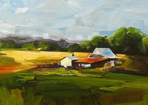 Oregon Landscape by Annie Salness